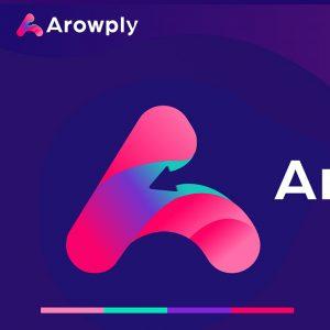 Дизайн логотипа для Arowply