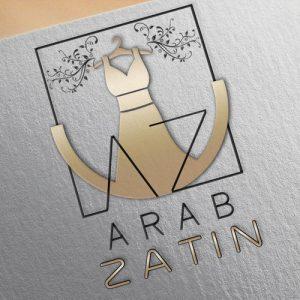 Top logo design trends 2019: дизайн логотипа для Arab Zatin