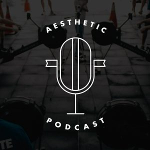 Top logo design trends 2019: дизайн логотипа для Aesthetic podcast