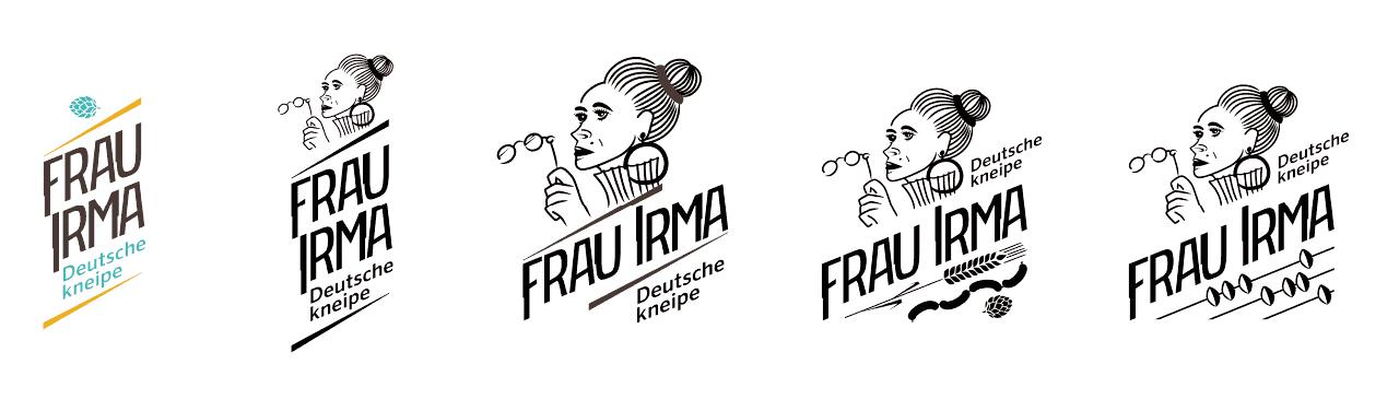 Frai logo variations