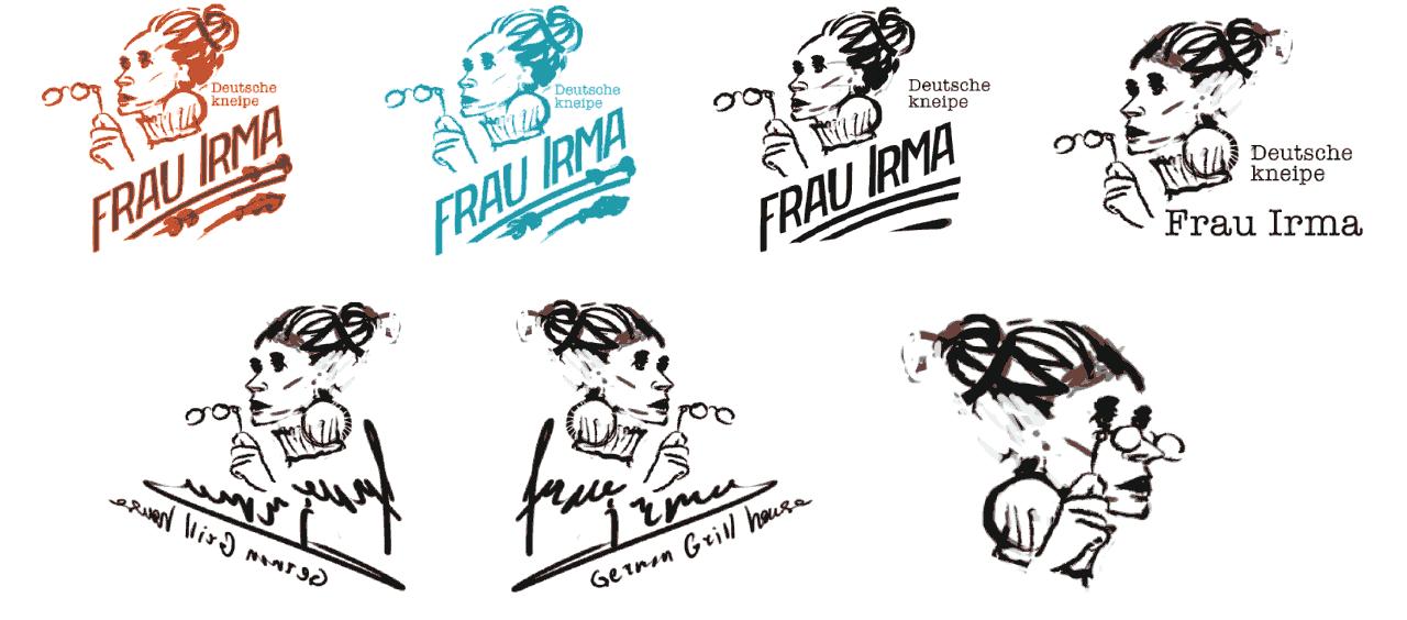 Frau logo variation