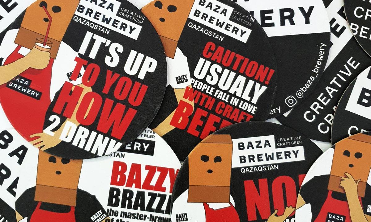 Набор костеров. Baza Brewery