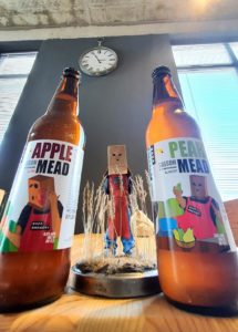 Apple and Pear mead. Baza Brewery